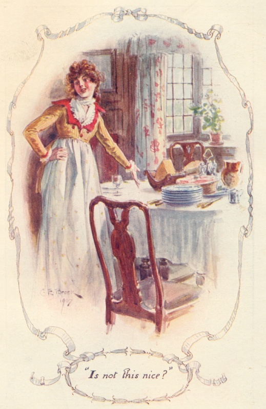 Jane Austen illustrations