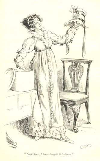 Jane Austen via mollands.net