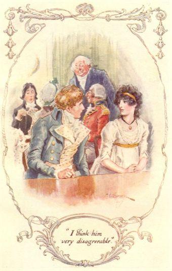 Jane Austen illustration