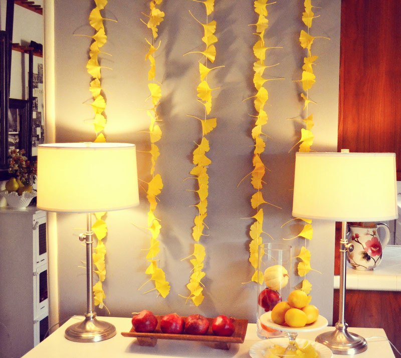 homemade garland
