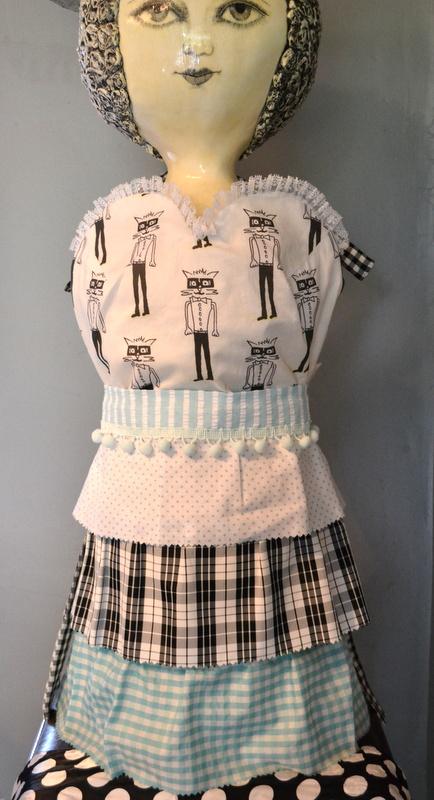 vintage custom aprons