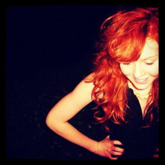 Redhead curls