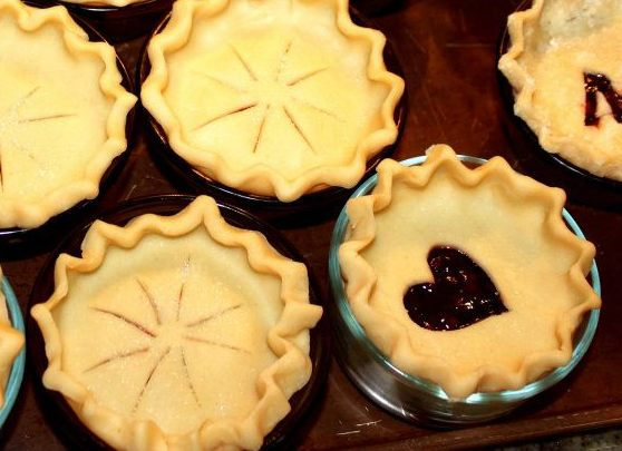 miniature pies for thanksgiving