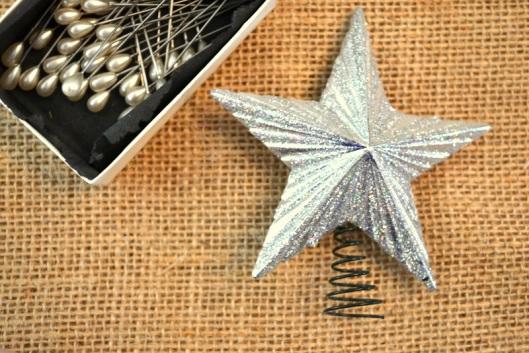 DIY Christmas pearl-tree