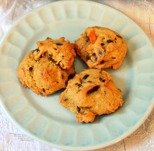 Persimmon Chocolate Chunk Cookies