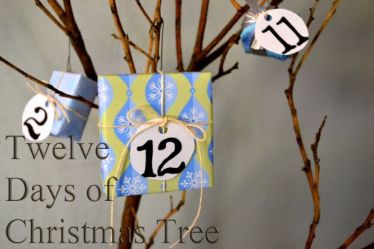 DIY Advent Tree