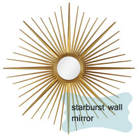 joss and main starburst mirror