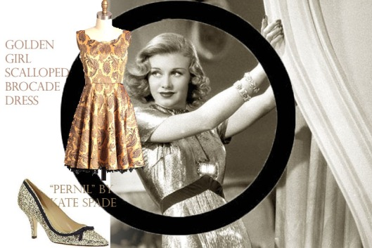 ginger rogers new years style