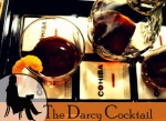 Mr Darcy inspired cocktail