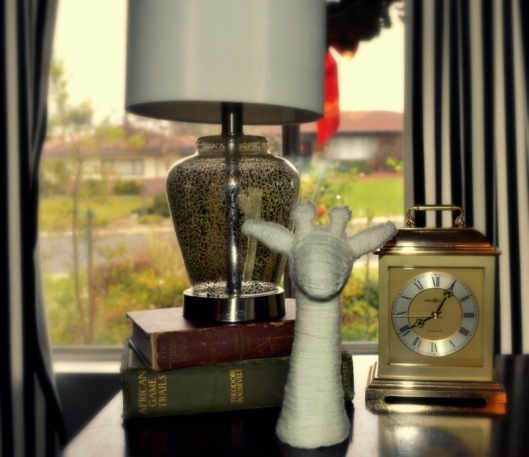 target giraffe figurine diy