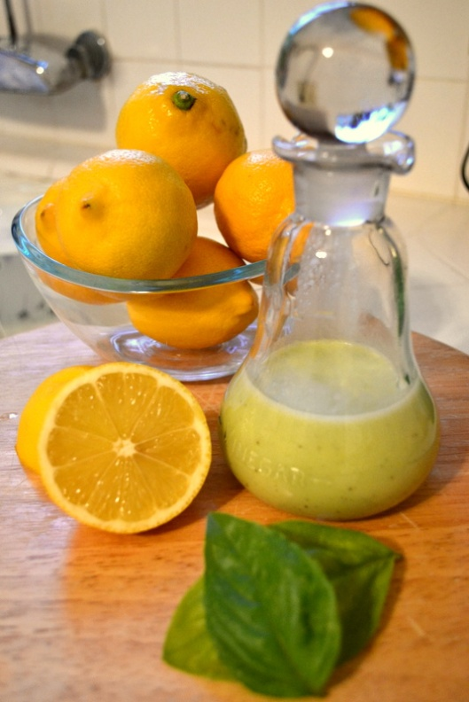lemon vinaigrette recipe via giada de laurentiis