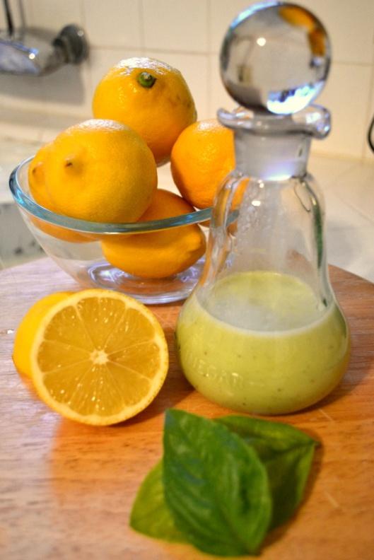 lemon vinaigrette recipe via giada de laurentiis