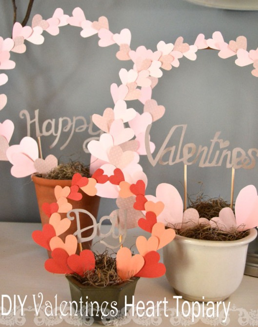 diy valentine centerpiece