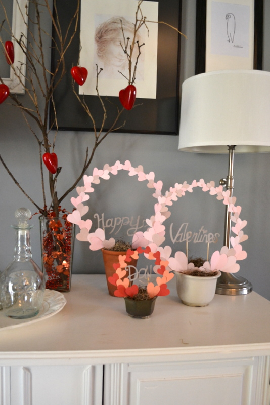 diy valentines decorations