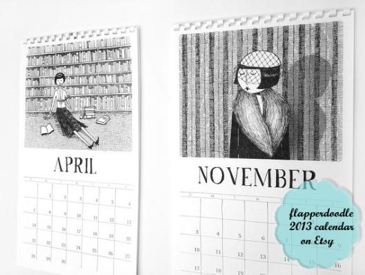flapperdoodle calendar