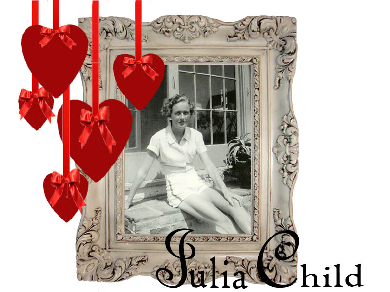 young julia child