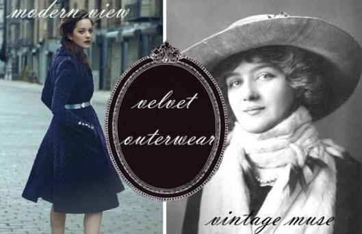 velvet overcoats