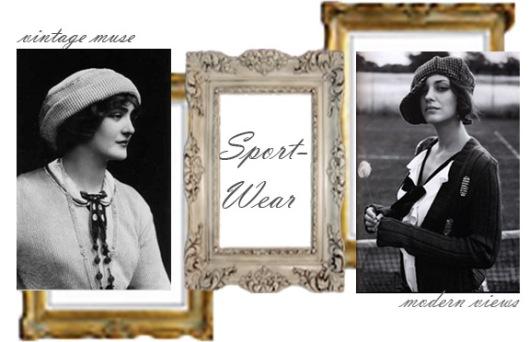 vintage sport wear