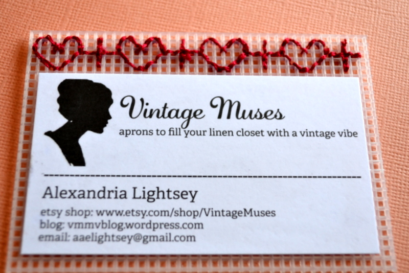 Diy calling cards making business personal vintage muse modern diy business cards reheart Gallery