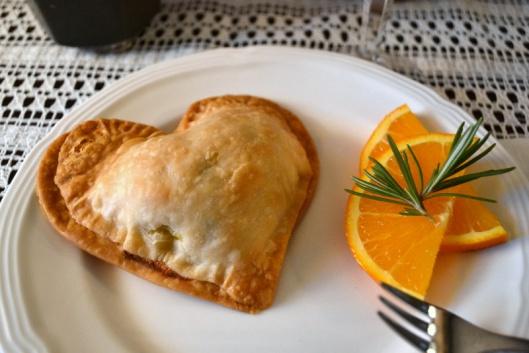 valentine breakfast hearts