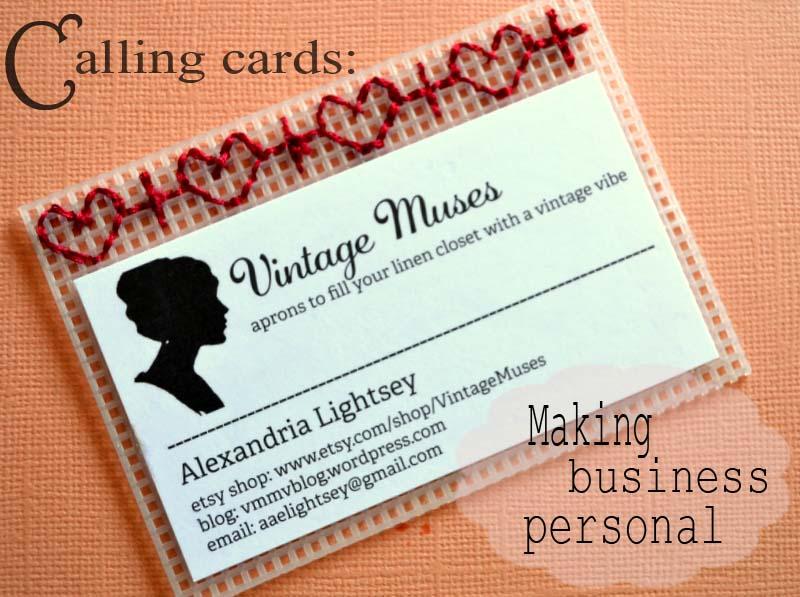 diy calling cards