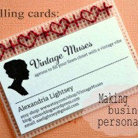 "DIY ""Calling Cards"": making business personal"