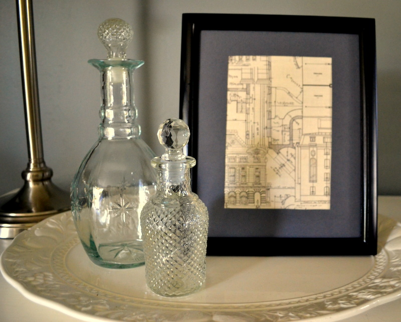 diy vintage framing