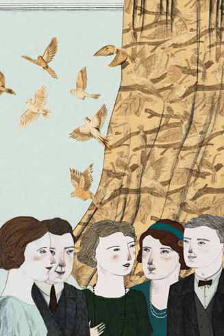 mrs. dalloway image via foliosociety