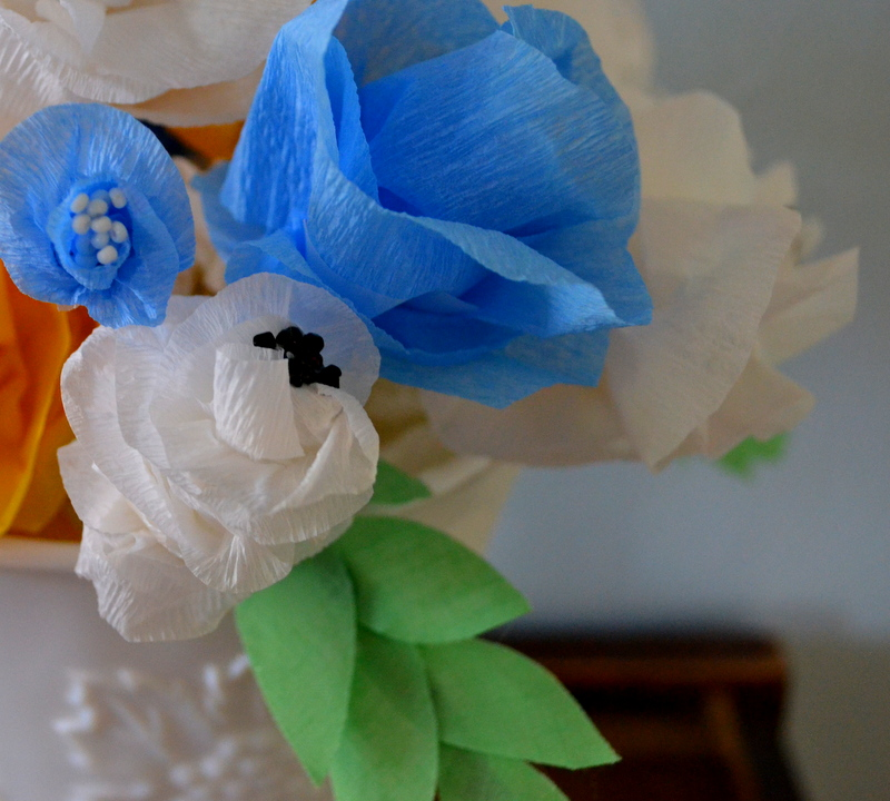 diy streamer bouquet