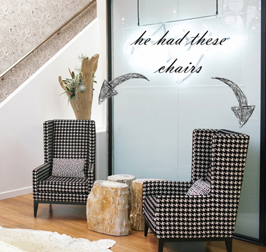 chairs via the everygirl
