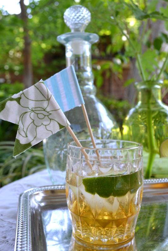 diy drink flags