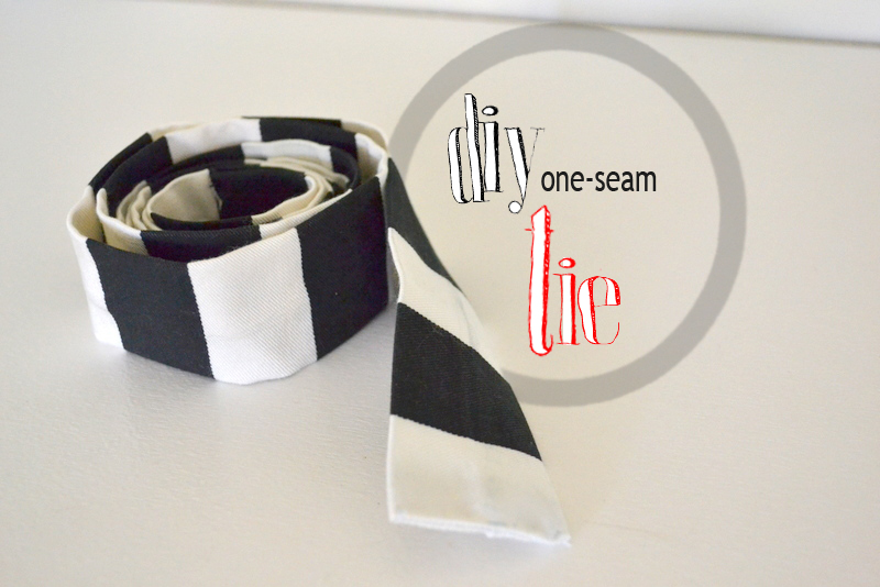 one seam tie