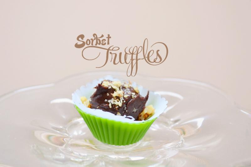 sorbet truffles