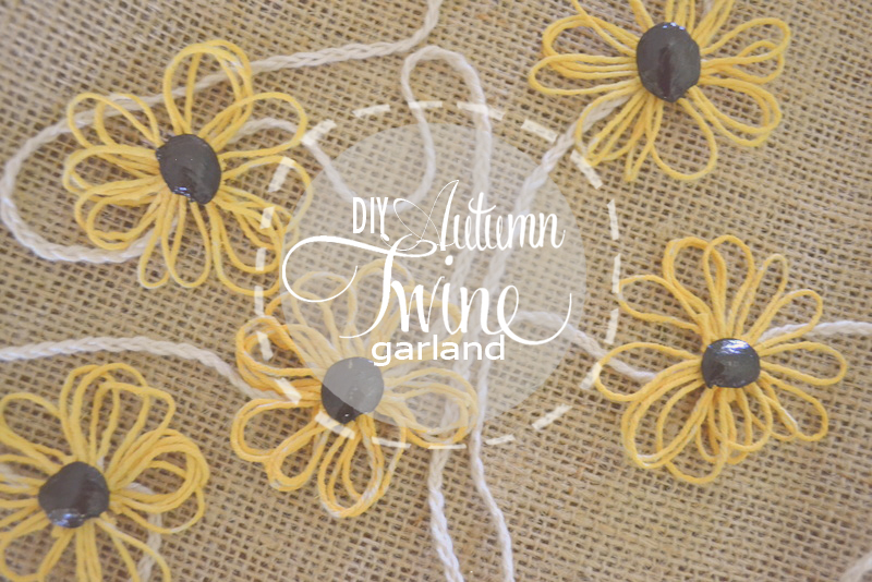 autumn twine garland